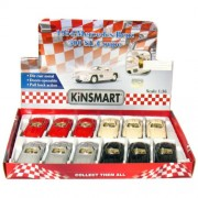 "12 Pcs In Box: 5"" 1954 Mercedes Benz 300 Sl Coupe 1:36 Scale (Beige/Black/Red/Silver)"