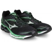 Mizuno Wave Creation 17 Running Shoes For Men(Black, Green, Silver)