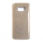 Оригинален кейс на Remax - Creative серията за Samsung Galaxy S8 (ЗЛАТИСТ мотив пясъчен брокат)