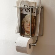 LOBERON Toilettenpapierhalter Cay