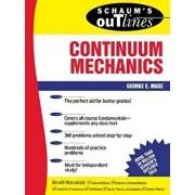 Schaum's Outline of Continuum Mechanics, Paperback/George Mase