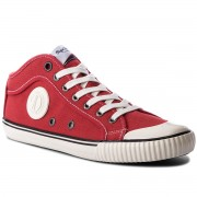Кецове PEPE JEANS - Industry 1973 PMS30429 Ribbon Red 243