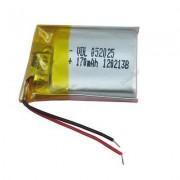 502025 - Acumulator Li-Polymer - 3,7 V - 170mah - 25x20x5 mm