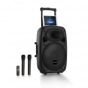"Auna Pro Streetstar 15, мобилна PA система, 15"" субуфер, BT/USB/SD/MP3/AUX, тролей (PAS4-Streetstar 2.0 15)"