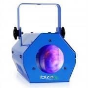 Ibiza LCM003LED лунно цвете парти светлинен ефект микрофон RGBWA син (LCM003-BL)