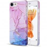 Funda iPhone 8 / Iphone 7 Case Plástico Mármol - Magenta