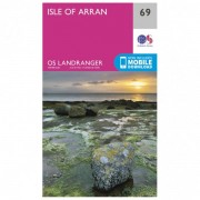 Ordnance Survey Isle Of Arran Carta escursionistica