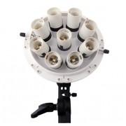 Lampă Lumină Continuă Falcon Eyes cu Octobox 80cm LHD-B928FS 312W