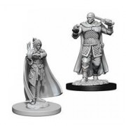 Set Figurine Dungeons And Dragons Nolzur's Unpainted Minsc And Delina