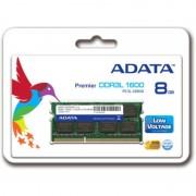 Memoria Sodimm DDR3L Adata 8GB 1600MHZ ADDS1600W8G11-S