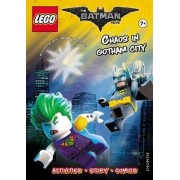 Lego THE LEGO (R) BATMAN MOVIE: Chaos in Gotham City (Activity book with exclusive Batman minifigure) by Egmont Publishing UK