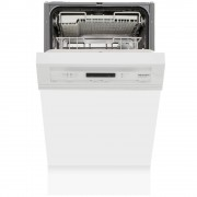 Miele G4620SCi Brilliant White Built In Semi Int. Slimline Dishwasher