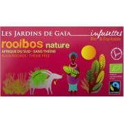 Thé rouge bio Rooibos Nature Jardins de Gaïa 20 infusettes
