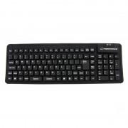 Tastatura Esperanza Silicon USB EK126K Black