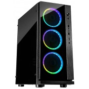 Carcasa Inter-Tech W-III RGB (Neagra)