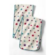 ランズエンド LANDS' END ガールズ・サーマチェック200・フリース・マフラー/柄【キッズ・子供服・女の子】(アイボリーマルチスター)