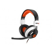 Sharkoon Auriculares Gaming SHARKOON Rush ER2 Negro, Naranja, Blanco