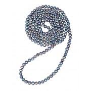 JwL Luxury Pearls Dlouhý náhrdelník z pravých modrých perel JL0531