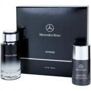 Mercedes-Benz For Men Intense lote de regalo I. eau de toilette 120 ml + deo barra 75 g