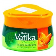 Vatika Hair Styling Cream Extreme Moisturizing 140ml (Pack Of 1)