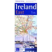 Wegenkaart - landkaart Ireland East ( Ierland )   Ordnance Survey