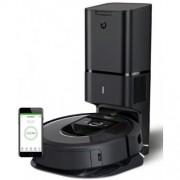 Прахосмукачка iRobot Roomba i7+ (7558), Индикация за пълен контейнер, Неограничена площ за почистване