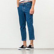 Alexandre Mattiussi Cropped Jeans Washed Blue