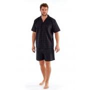 Pijama barbateasca Harvey Black Check