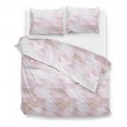 Zo!home Chetan Dekbedovertrek - Lits-jumeaux (260x200/220 Cm + 2 Slopen) - Katoen Satijn - Pink