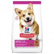 6кг Adult 1-6 Small & Mini Hill's Science Plan, суха храна за кучета с агнешко и ориз