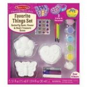 Комплект, Оцвети фигурки на любимите си неща Melissa and Doug, 000772195348