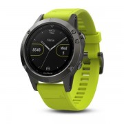 Garmin fenix 5 - Gray Yellow - 010-01688-02 - Sporthorloge