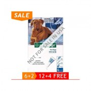 Advantage Extra Large Dogs Over 55 Lbs (Blue) 6 + 2 Free