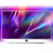 Телевизор PHILIPS 43 инча, Ambilight TV 4K UHD LED Android TV, Сив, 43PUS8505/12