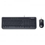 Kit Tastatura + Mouse Microsoft Wired Desktop 600 USB Negru