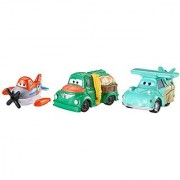Disney Planes Micro Drifters Supercharged Dusty Franz and Chug Vehicle 3-Pack