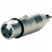 3 Pin Female XLR to RCA Male Adapter