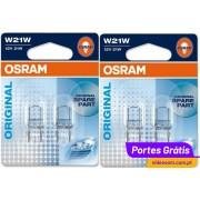 OSRAM W21W ( 4 Lâmpadas )