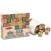 Blocuri de lemn ABC / 123 (11900)