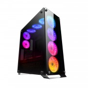 CTesports Case Gaming CTesports ORION 4G con 4 pannelli in vetro temperato - ORION4 (CT-ORION4)