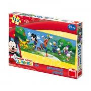 Dino puzzle 150 kom panorama Mickey Mouse