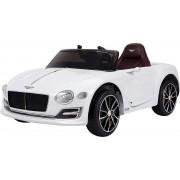 HOMCOM Accu kinderauto Bentley leder met afstandsbediening radio en verlichting 12V 2,4G 3-8 jaar