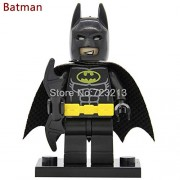 Generic 20pcs DC Batman Movie Figure Joker Harley Quinn Robin Orca Mr Freeze Calendar Zebra Magpie Building Blocks Bricks Toys Batman