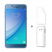 "Samsung Galaxy C5 Pro C5010 RAM 4G 64G ROM Octa Core 5.2 ""16.0MP Azul + Protector De Pantalla + Estuche"