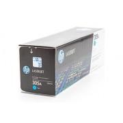 HP 305A Azurová originální tonerová kazeta LaserJet (CE411A)