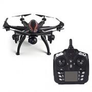 CNluca L100 6-Axis 720P Gran Angular 2.4G Drone Quadcopter Avión Avión WiFi FPV Dual GPS 180 ° Control Remoto de cámara Ajustable