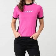 Lazy Oaf Lazy Sports Ringer Tee Pink