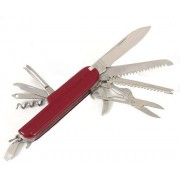 Gift Studio Swiss Red 12 Multi-utility Knife(Red)