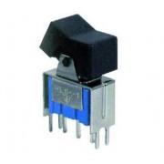 L.S.C. Isolanti Elettrici Mini Deviatore A Bilancere 1 Scambio 2 Posizioni 6a