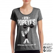 Popeye´s Gym - Strong To The Finish Performance Girly Tee